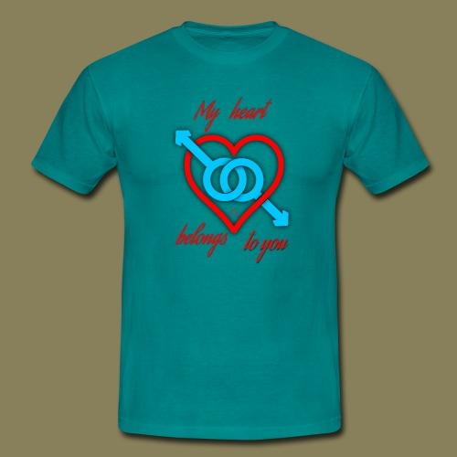 Maglietta da uomo -  (San Valentino Creative MM) - Maglietta da uomo