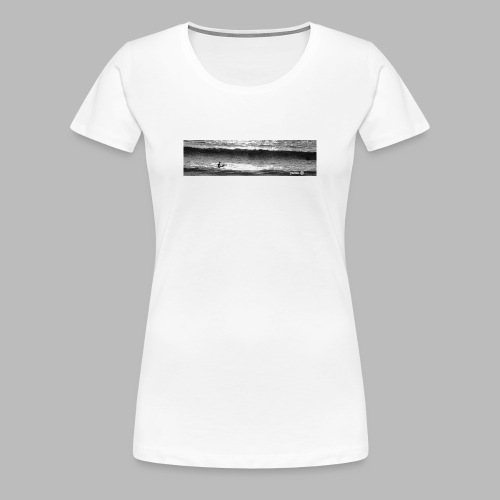 Between Sets - Women's Premium T-Shirt