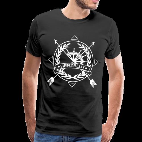 Herzblut Arrows - Männer Premium T-Shirt