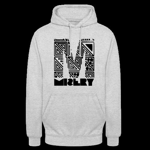 Hoodie M Logo Grau - Unisex Hoodie