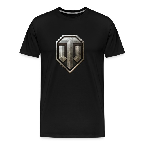 World of Tanks Metal Logo Männer T-Shirt - Men's Premium T-Shirt
