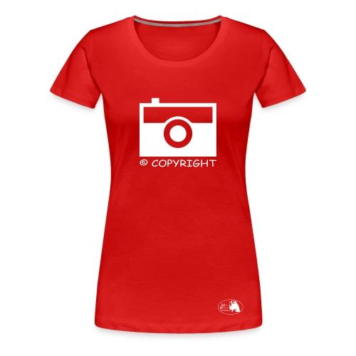 Copyright  - Frauen Premium T-Shirt