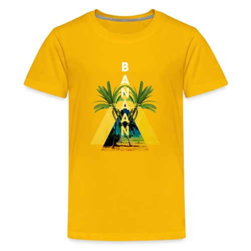BANAAN/04 tienershirt - Teenager Premium T-shirt