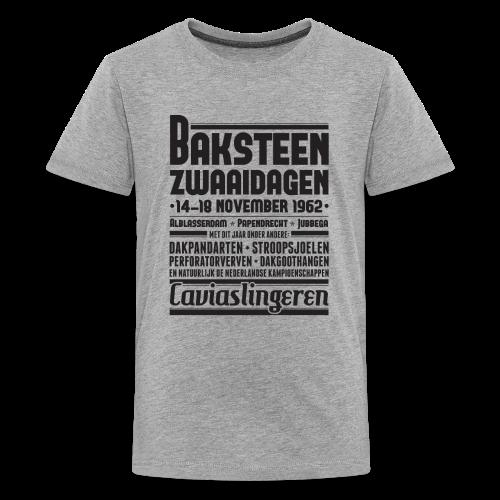 Baksteenzwaaidagen tienershirt - Teenager Premium T-shirt