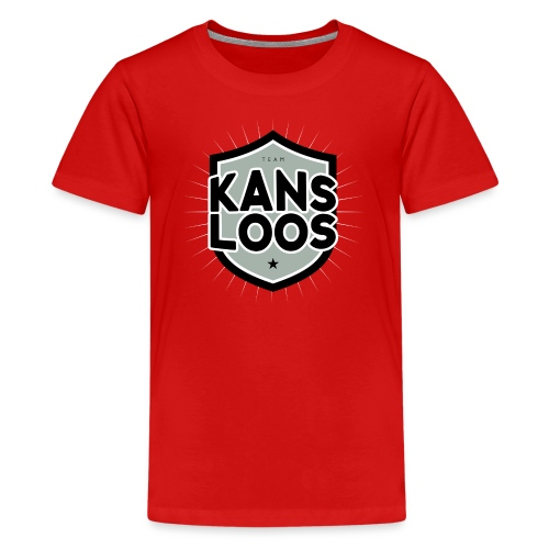 Team kansloos tienershirt - Teenager Premium T-shirt