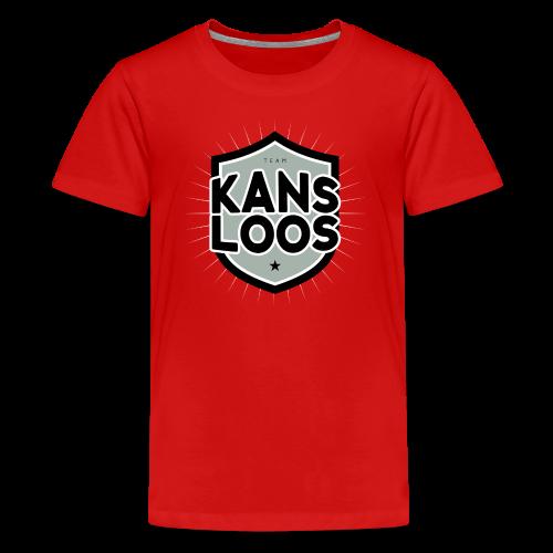 Team kansloos tienershirt - Teenager Premium T-shirt