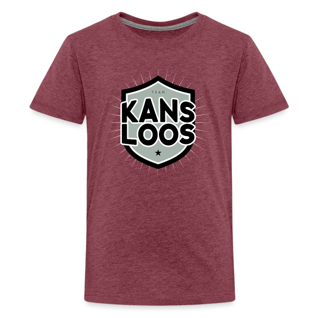 Team kansloos tienershirt