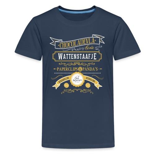 Wattenstaafje Tienershirt - Teenager Premium T-shirt