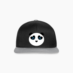 panda white Caps & Hats