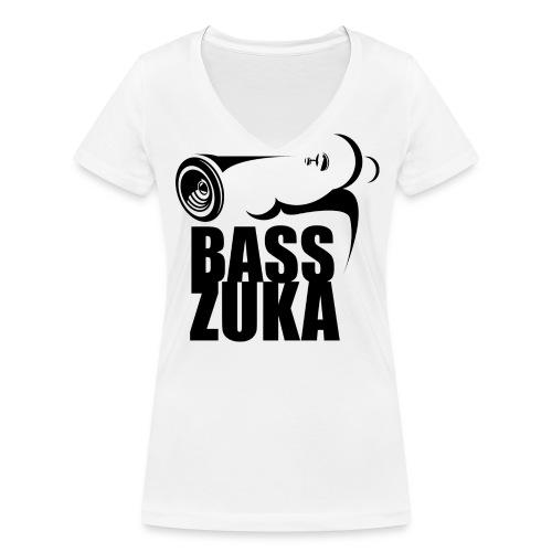 BassZuka Shirt Women  - Frauen Bio-T-Shirt mit V-Ausschnitt von Stanley & Stella