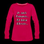 Manches longues ~ Tee shirt manches longues Premium Femme ~ Numéro de l'article 105238019