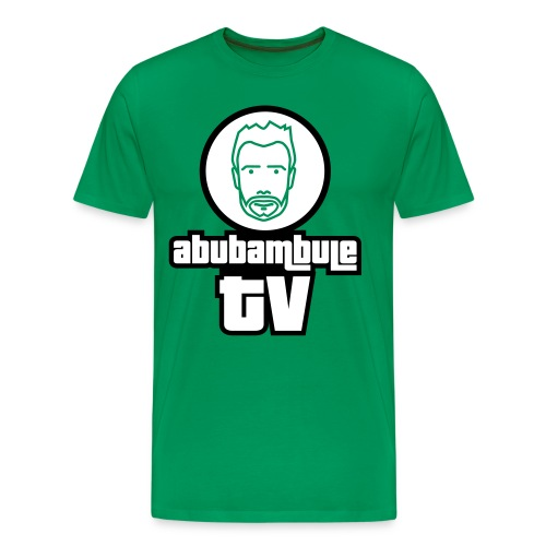 Herren T-Shirt - Abubambule TV Logo in verschiedenen Farben - Männer Premium T-Shirt
