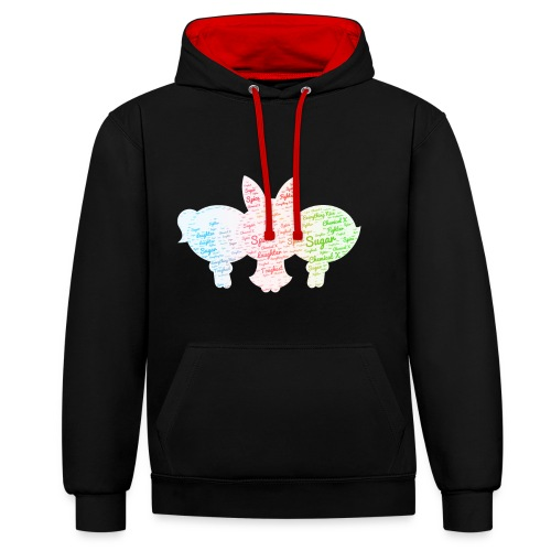 Perfect Little Girl Hoodie - Contrast Colour Hoodie