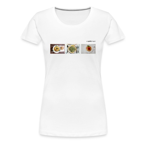 Spagetty Images - Frauen Premium T-Shirt
