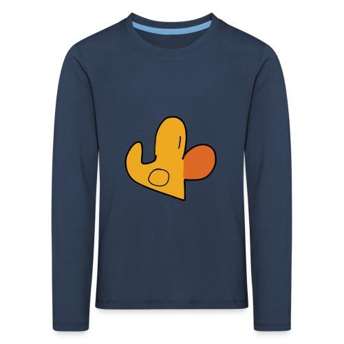 Enti-Langarmshirt (Kinder) - Kinder Premium Langarmshirt