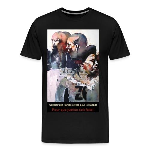 T Shirt homme CPCR - T-shirt Premium Homme