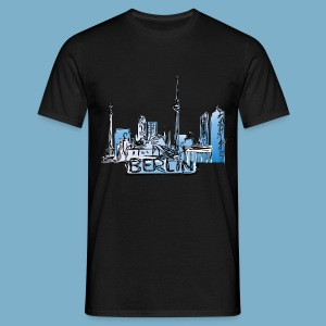 Berlin Sky Line - Männer T-Shirt