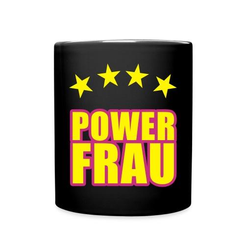 Powerfrau - Tasse einfarbig