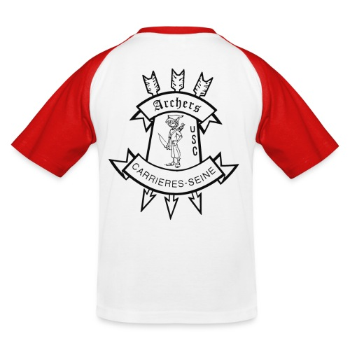 polo couleur, Logo dos, coeur USC - T-shirt baseball Enfant