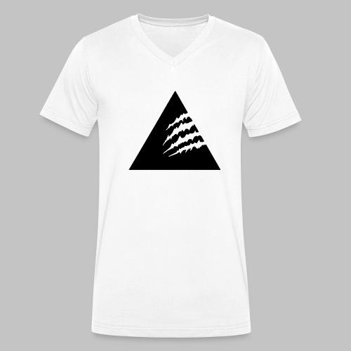 T-Shirt V-Ausschnitt Ready4Summer - White - Männer Bio-T-Shirt mit V-Ausschnitt von Stanley & Stella