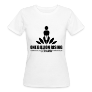 T-Shirts ~ Frauen Bio-T-Shirt ~ Öko-FLOCK-Germany-sw