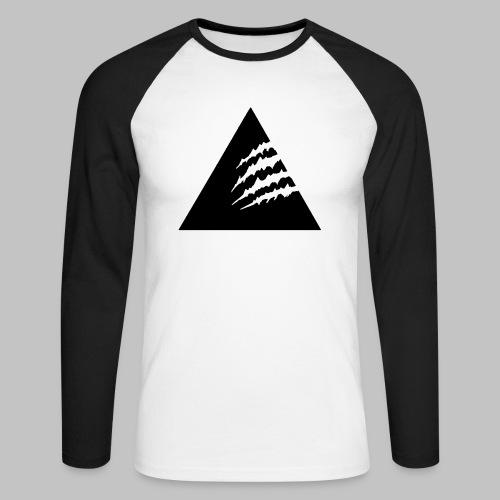 Sweater S/W - Männer Baseballshirt langarm