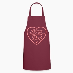 Happy Valentine's Day Heart  Aprons