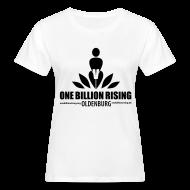 T-Shirts ~ Frauen Bio-T-Shirt ~ Oldenburg-Öko-Flock-sw