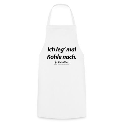 Schürze - weiß - Kochschürze