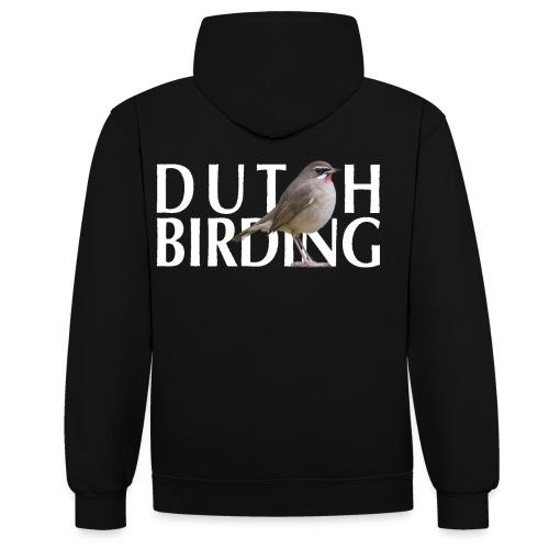 RKN Contrast hoodie - Contrast hoodie