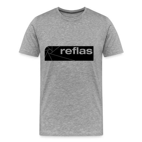 Reflas Clothing Gray/Black - Maglietta Premium da uomo