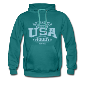 Just Another Fucking USA Hoody - Männer Premium Hoodie