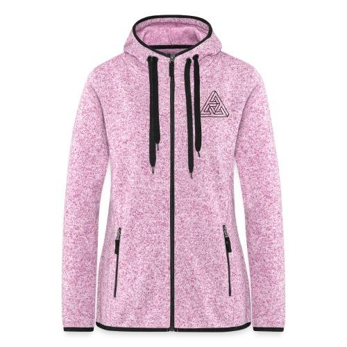 Women's Fleece Jacket - BESPOKE REALITY - Women's Hooded Fleece Jacket