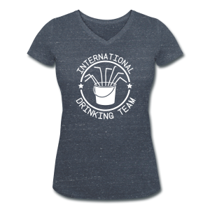 International Drinking Team - Women's Organic V-Neck T-Shirt by Stanley & Stella
