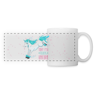 Tasse panoramique Freaking Unicorn - Tasse panorama