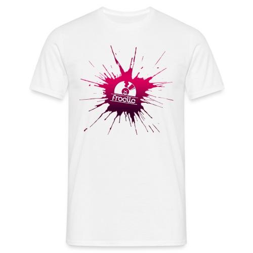 Froelle Splash Classic White T-Shirt - T-shirt herr