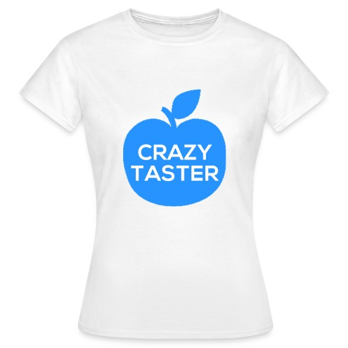 Woman Blue Apple T - Women's T-Shirt