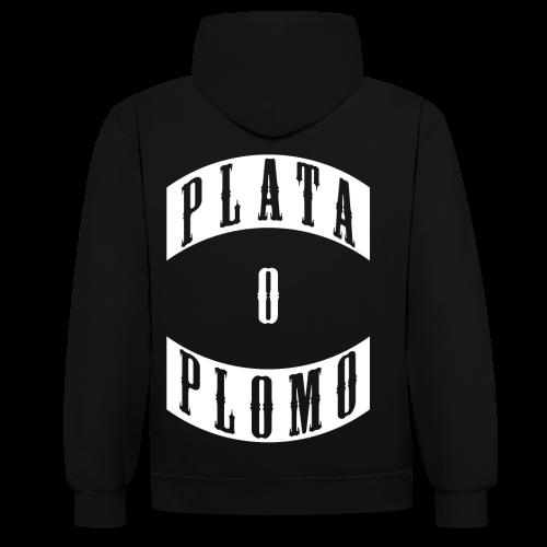 PLATA O PLOMO GANGMEMBER HOODIE - Kontrast-Hoodie