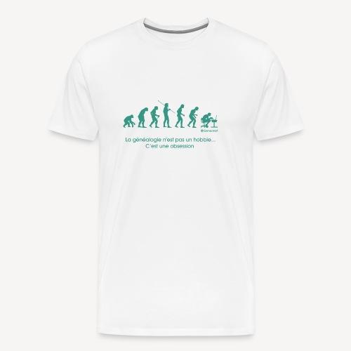 T-shirt qualité supérieure homme - Evolution - T-shirt Premium Homme