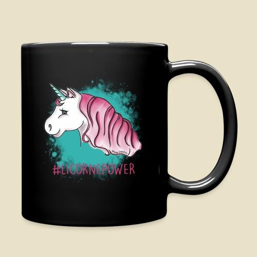 Tasse noire  #LicornePower - Mug uni