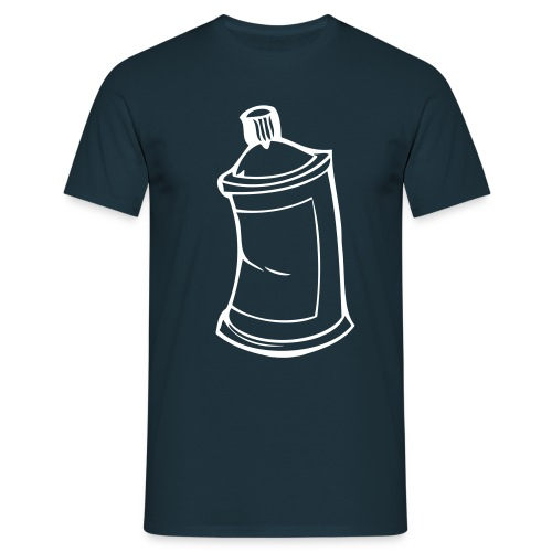 Spray Can - Männer T-Shirt