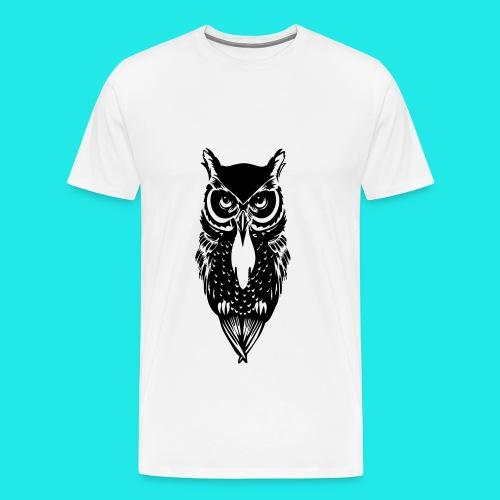 Owl T-shirt  - Men's Premium T-Shirt