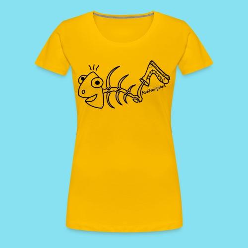 FischKnieBone, Frauen - Frauen Premium T-Shirt