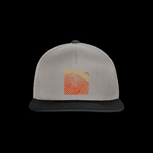 FINGER PRINT SNAPBACK  - Snapback cap