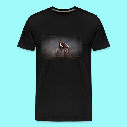Male Memento Moriendo T-shirt Reaper - Men's Premium T-Shirt