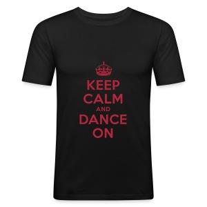 Herren Slim Tshirt - Männer Slim Fit T-Shirt