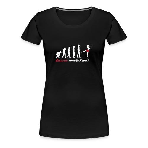 Damen Dance Evolution - Frauen Premium T-Shirt