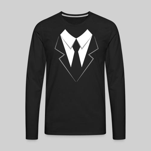 Gentleman Männer-Pullover - Männer Premium Langarmshirt