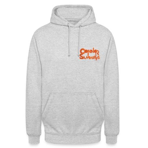 Connor Samways Hoodie (Orange Logo) - Unisex Hoodie