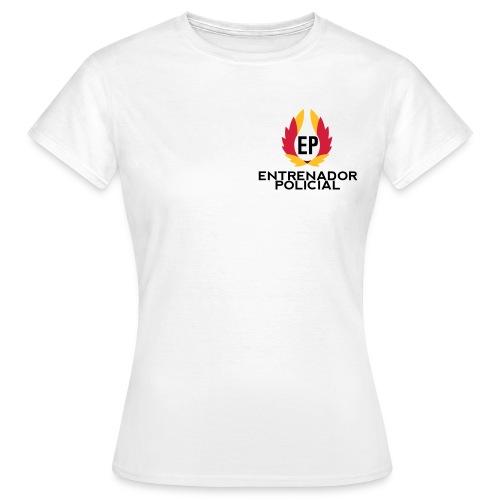Camiseta Algodón Mujer Blanca - Camiseta mujer
